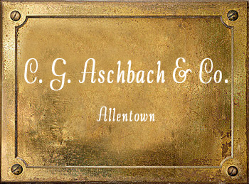 Aschbach & Co History Allentown PA