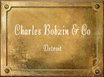 Charles Bobzin & Co Detroit brass musical instrument history