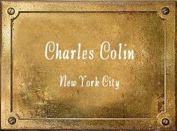 Charles Colin mouthpiece New York Trumpet Cornet