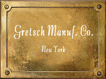 Fred Gretsch Manufacturing Co New York brass instrument history
