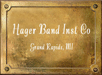 Hager Band Instrument Company Music history Grand Rapids MI