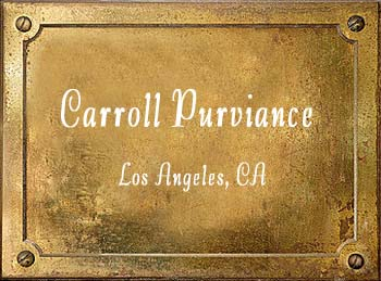 Carroll Purviance Trumpet Mouthpiece History Los Angeles California