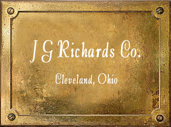 J G Richards & Co Cleveland Ohio brass musical instruments