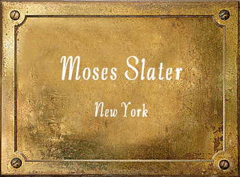 Moses Slater brass New York History