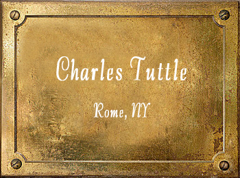 Charles Tuttle Music Store Rome New York History