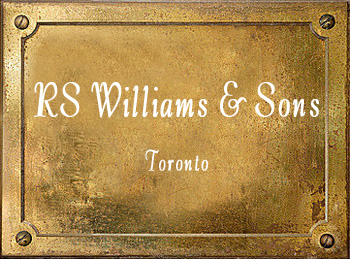 RS Williams & Sons Toronto brass instrument history