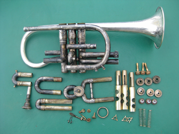 Keefer Cornet restoration