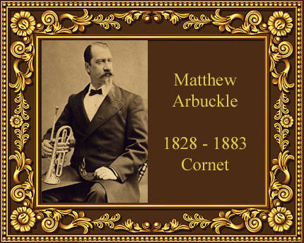 Matthew Arbuckle Cornet player history