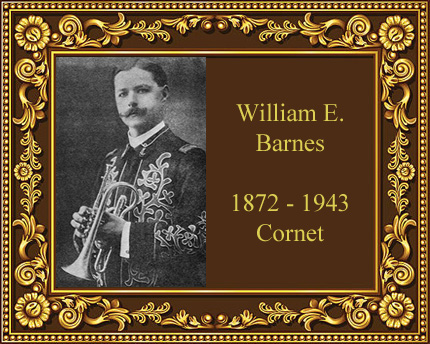 William E Barnes Cornet player music teacher Cleveland Ohio