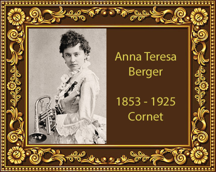 Anna Teresa Berger Cornet Virtuoso Jackson Michigan