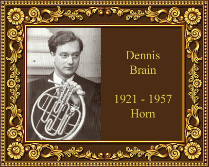 Dennis Brain French Horn Virtuoso England