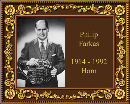 Philip Farkas French Horn Virtuoso