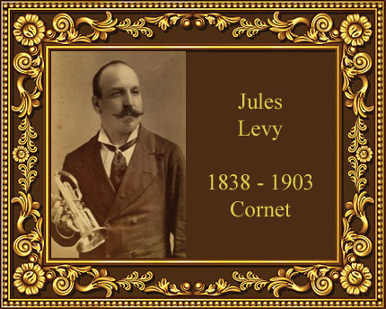 Jules Levy cornet player