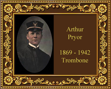 Arthur Pryor trombone player