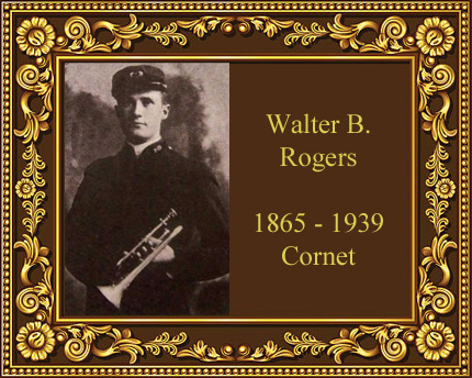 Walter Rogers Cornet player