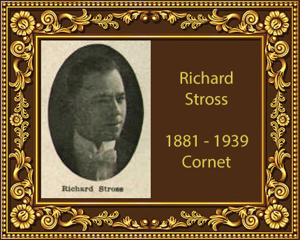 Richard Stross Trumpet Cornet Virtuoso Chicago Conn