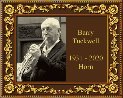 Barry Tuckwell French Horn Virtuoso Soloist