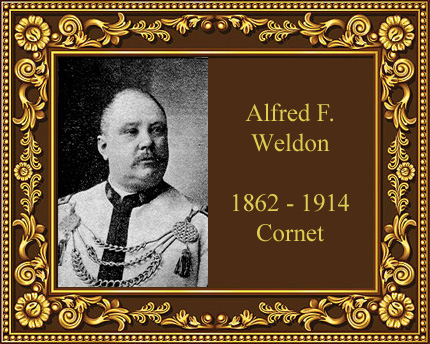 Alfred F Weldon Cornet player Chicago