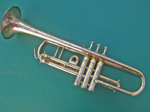 Besson Gold Plated Trumpet