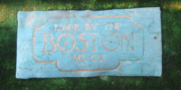 Boston Musical Trumpet Case Label